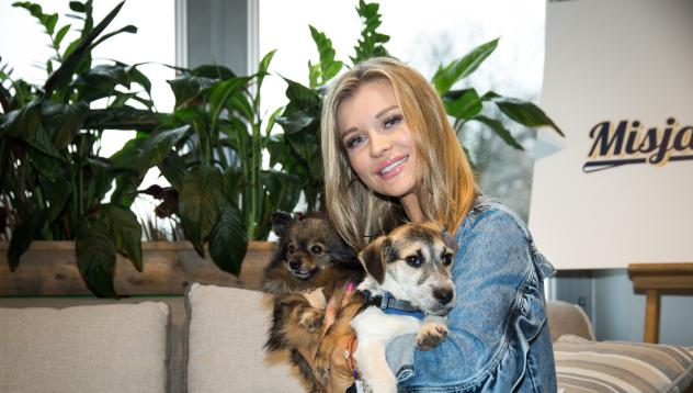 """""""Misja Pies"""": Joanna Krupa zachęca do adopcji psów ze schroniska"""