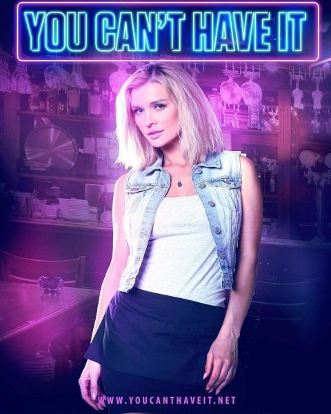 "Joanna Krupa - Plakat promujący film ""You Can'T Have It"""