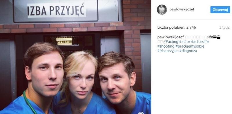 """Diagnoza"": Józef Pawłowski, Aleksandra Adamska, Antoni Królikowski"