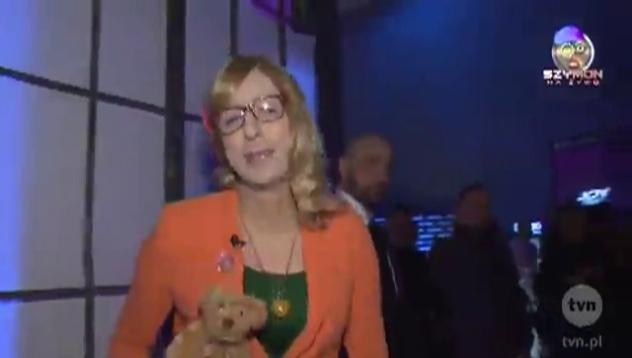 Anna Foch-Tryskolaska na imprezie YOJ TRENDY 2012!