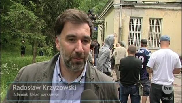 """Radosław Krzyżowski w """"Układzie warszawskim"""""""