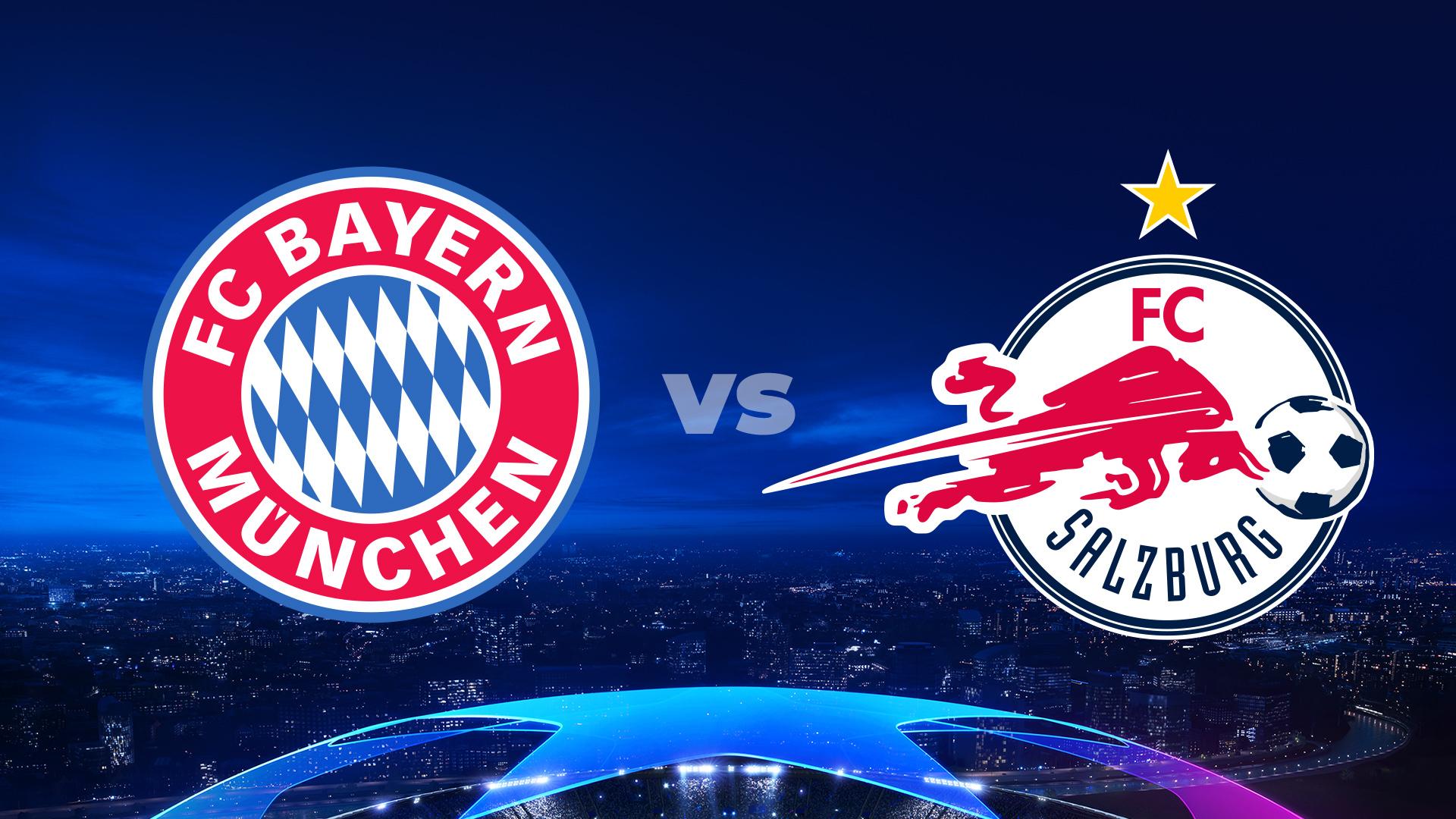 Bayern Monachium - FC Salzburg