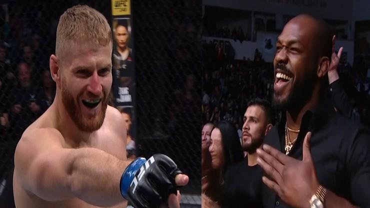 UFC 253: Tak Jon Jones zareagował na nokaut Jana Błachowicza