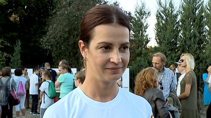 Europejski Tydzień Sportu. Minister sportu trenowała z niepełnosprawnymi intelektualnie