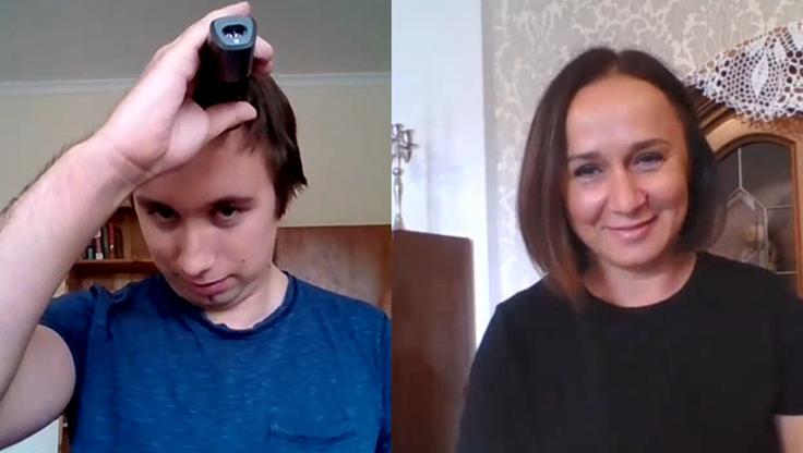 Jak samemu obciąć włosy? Ostrzygliśmy się pod okiem specjalistki