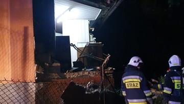 Wybuch gazu w Małopolsce. Eksplozja zniszczyła dom [WIDEO]