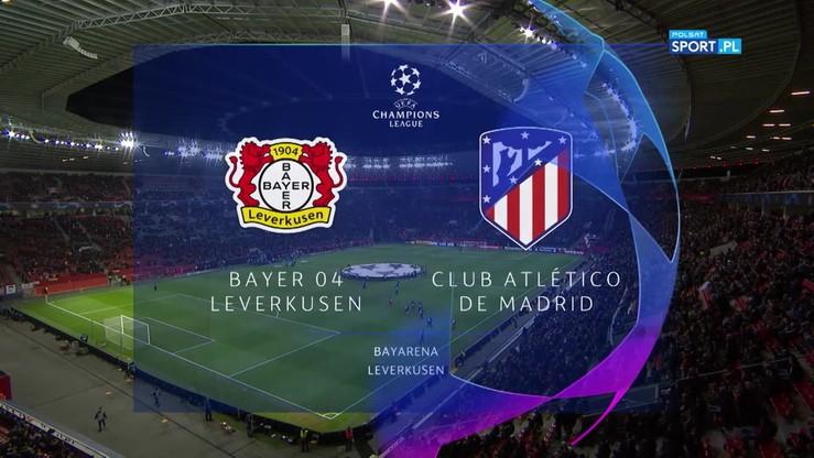 2019-11-06 Bayer Leverkusen - Atletico Madryt 2:1. Skrót meczu