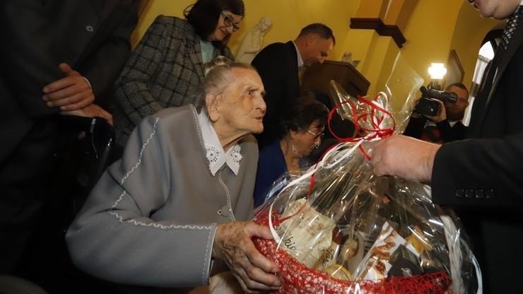 108. urodziny pani Elżbiety. Ujawniła sekret swojej długowieczności