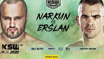 KSW 56: Narkun poznał rywala w walce o pas