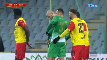 Fortuna 1 Liga: Korona Kielce - Radomiak Radom 0:2. Skrót meczu