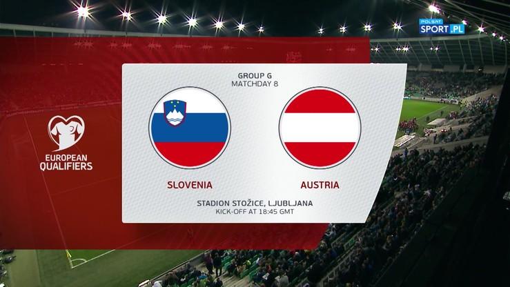 Słowenia - Austria 0:1. Skrót meczu
