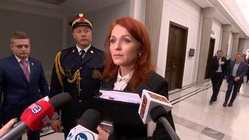 Szefowa Kancelarii Sejmu nie stawi się na wezwanie sędziego Juszczyszyna. Podała powód