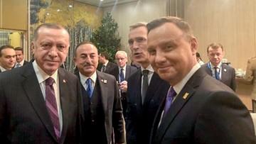 Duda spotkał się z Erdoganem i przywódcami państw bałtyckich