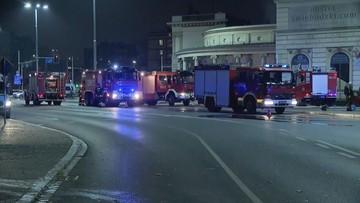Nie żyje osoba, którą służby reanimowały po pożarze na dworcu we Wrocławiu