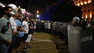 Protesty w Bułgarii. Starcia policji i demonstrantów przed parlamentem