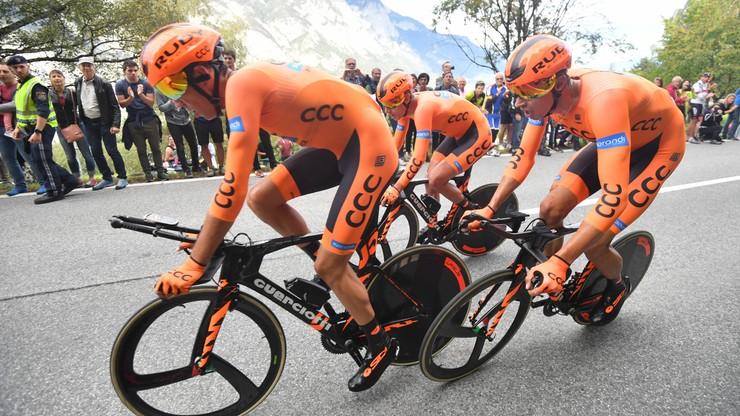 Grupa kolarska CCC silniejsza w przyszłym sezonie