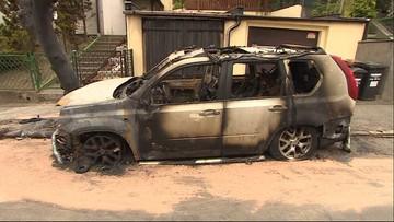 """Oblali czymś auto i podpalili. """"Działali na zlecenie"""""""