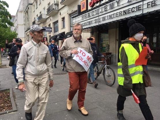 Protest przedsiębiorców w stolicy