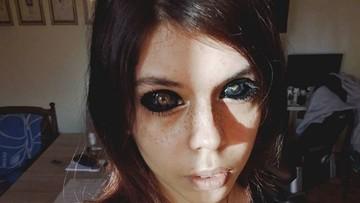 Wytatuowała sobie gałki oczne i niemal straciła wzrok. Tatuażysta stanie przed sądem