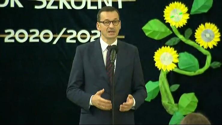 Premier na rozpoczęciu roku szkolnego w Dalikowie: trzeba szanować tradycyjny model edukacji