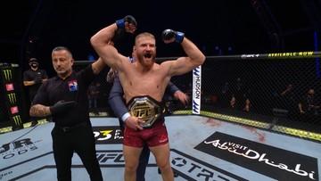 UFC 253: Błachowicz mistrzem UFC! Efektowny nokaut Polaka