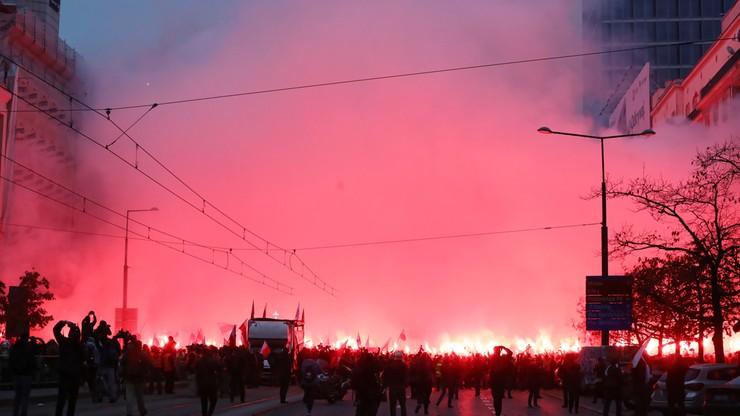Politycy o Marszu Niepodległości. Bosak: wspaniała łuna