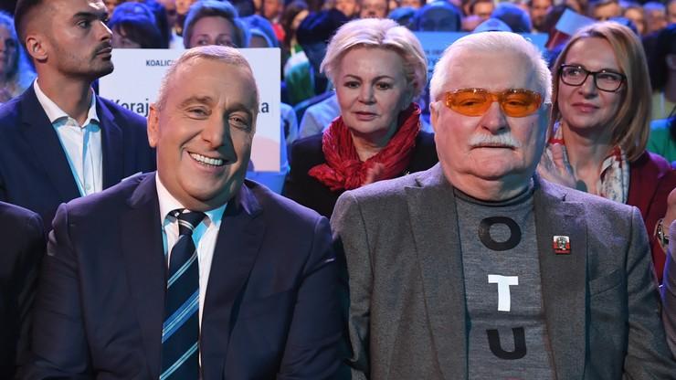 Schetyna: słowa Wałęsy o K. Morawieckim nie do zaakceptowania