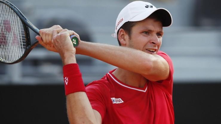 ATP w Kolonii: Hubert Hurkacz i Roberto Bautista-Agut zagrają o półfinał