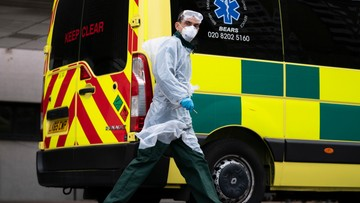 Wielka Brytania: 684 zgonów w ciągu doby z powodu koronawirusa