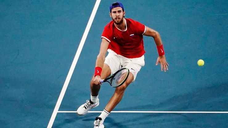 ATP Cup: Rosja i Australia pierwszymi półfinalistami