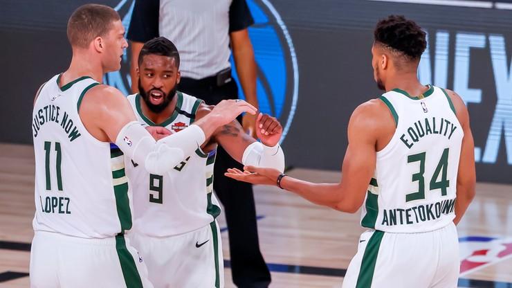 NBA: Bucks zapewnili sobie pierwsze miejsce w Konferencji Wschodniej