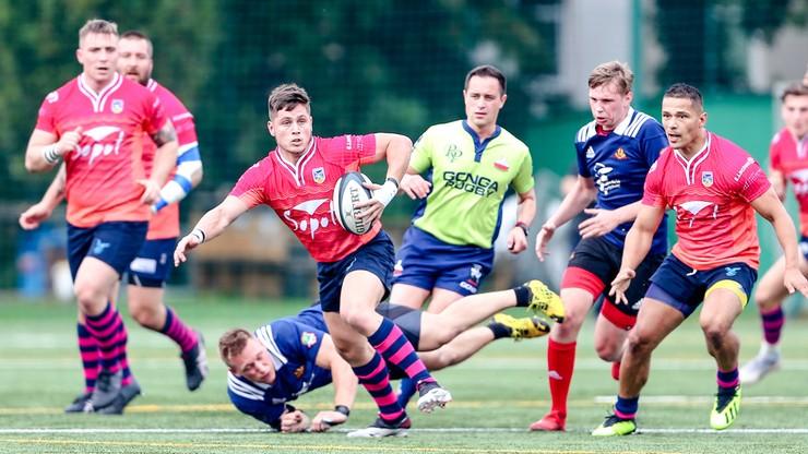 Ekstraliga rugby: Ogniwo Sopot górą w meczu na szczycie