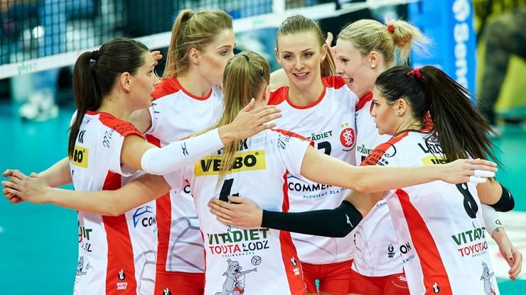 LSK: ŁKS Commercecon Łódź – #VolleyWrocław. Relacja i wynik na żywo