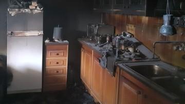 Pożar domu w Małopolsce. Zginęli niepełnosprawni mężczyźni