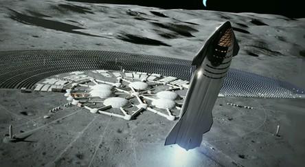 Pierwsze bazy na Księżycu będą dobrze ukryte przed światem zewnętrznym