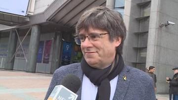 Puigdemont dla Polsat News: Katalonia będzie wolna i niepodległa, bo tego chcą ludzie