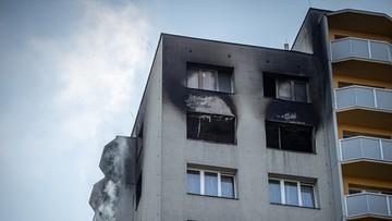 Pożar wieżowca w Czechach. Nie żyje 11 osób, które skakały z najwyższych pięter [ZDJĘCIA]