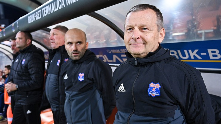 Fortuna 1 Liga: Piotr Mandrysz trenerem Sandecji Nowy Sącz
