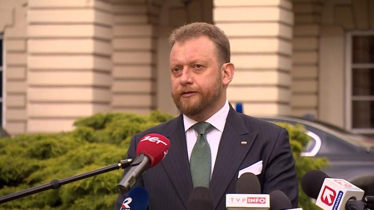 Łukasz Szumowski przerywa urlop. Ministerstwo potwierdza