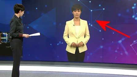 Przyszłość jest już dziś. Prezenterka-avatar pojawiła się w koreańskiej telewizji [FILM]
