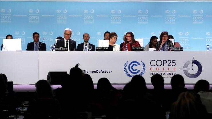 """Szczyt klimatyczny w Madrycie bez porozumienia. """"Nie możemy się poddawać"""""""