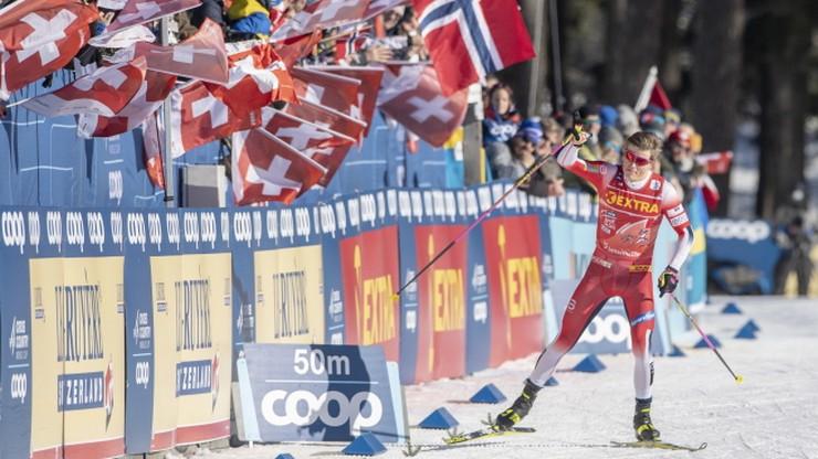 Tour de Ski: Lampic i Klaebo znów najlepsi w sprincie