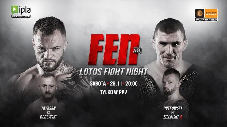 Gala FEN 31: LOTOS Fight Night w Cyfrowym Polsacie i IPLI