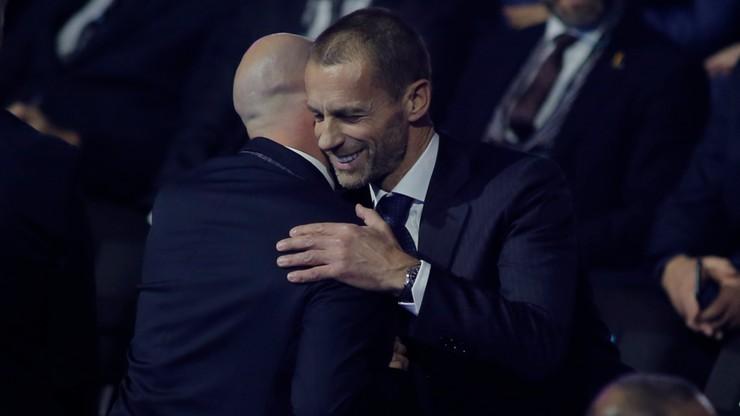 Prezydent UEFA skrytykował sposób używania systemu VAR