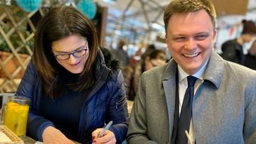 Dulkiewicz podpisała się zarówno pod kandydaturą Hołowni, jak i Kidawy-Błońskiej