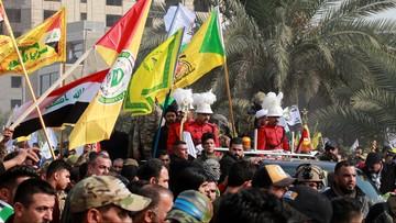 Pogrzeb generała Kasema Sulejmaniego. Setki tysięcy uczestników