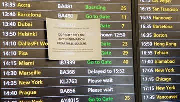 Chaos, opóźnienia i nerwy pasażerów. Awaria na wielkim europejskim lotnisku
