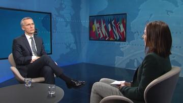 """""""UE nie jest w stanie obronić Europy"""". Sekretarz generalny NATO w Polsat News"""