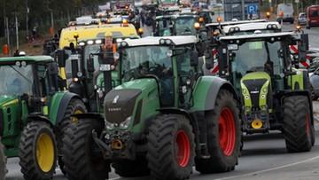 Protest rolników w Niemczech. Traktory zablokowały miasta