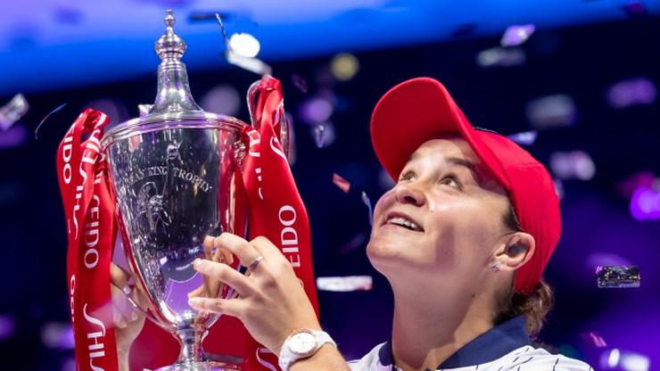 WTA Finals: Barty lepsza od Switoliny w finale